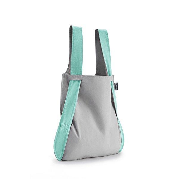 NOTABAG taška/batoh - Mint/Grey