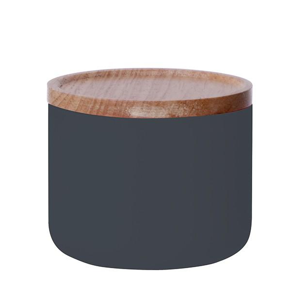 Malá dóza Silk - černá