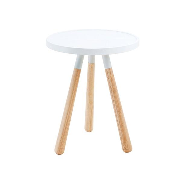Odkládací stolek Orbit bílý