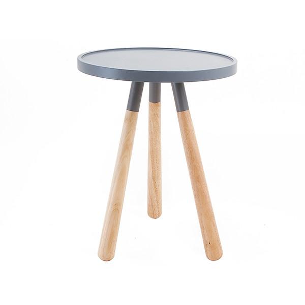 Odkládací stolek Orbit - šedý