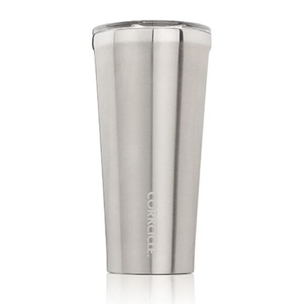Láhev Tumbler - stříbrná M (473 ml)