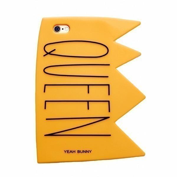 Kryt na iPhone 6/6S – 3D Queen YEAH BUNNY