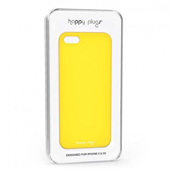 Ultratenký obal na iPhone 5/5S - žlutý