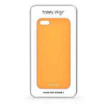 Ultratenký obal na iPhone 5/5S – oranžový