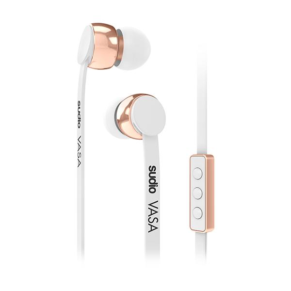 Sluchátka SUDIO VASA pro iOS - bílá