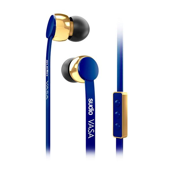 Sluchátka SUDIO VASA pro iOS - modrá