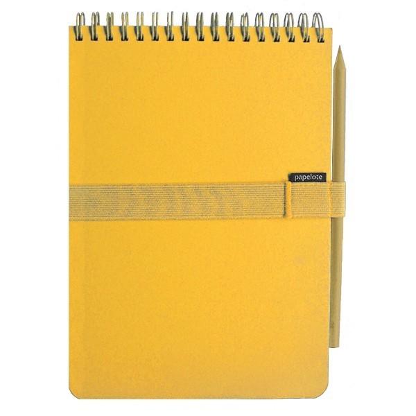 Softblok A5 sada - čistý - žlutá