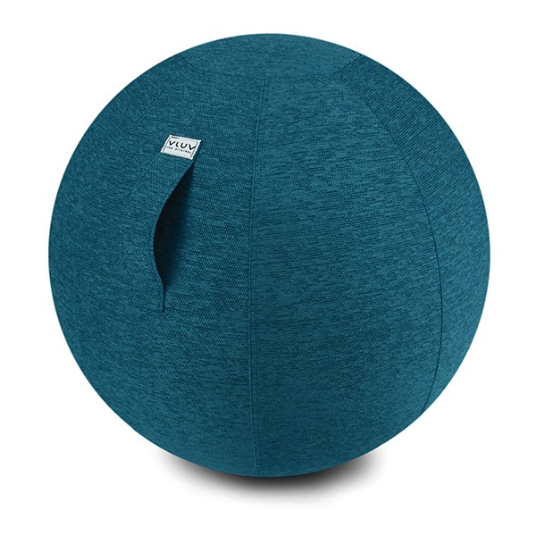 Vluv Stov sedací míč Ø 65 cm - modrý