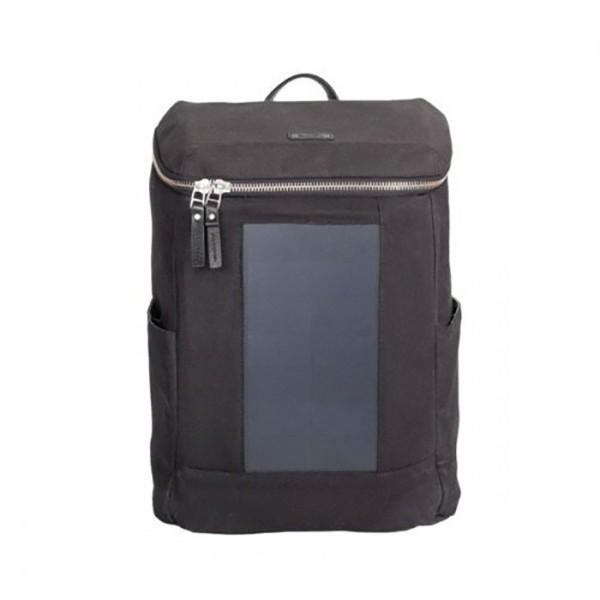 Birksun batoh se solární nabíječkou London - černý