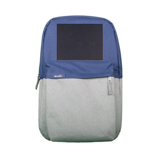 Birksun batoh se solární nabíječkou Boost - modrý