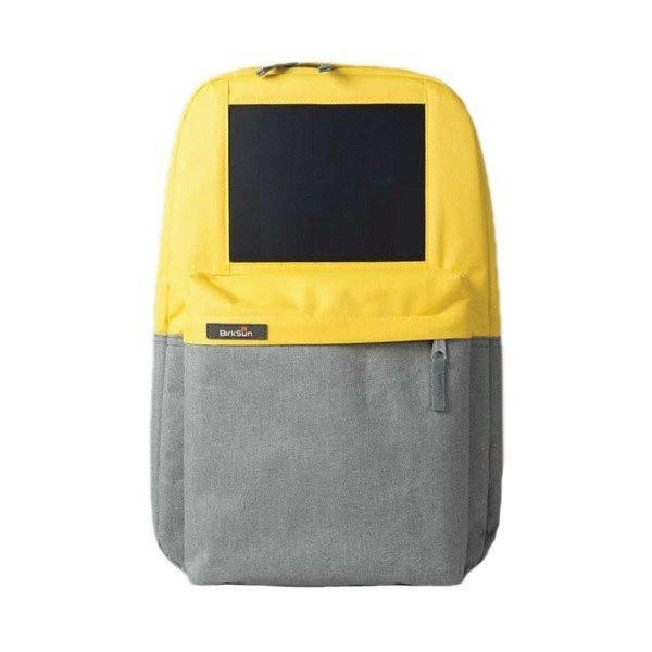 Birksun batoh se solární nabíječkou Boost - žlutý