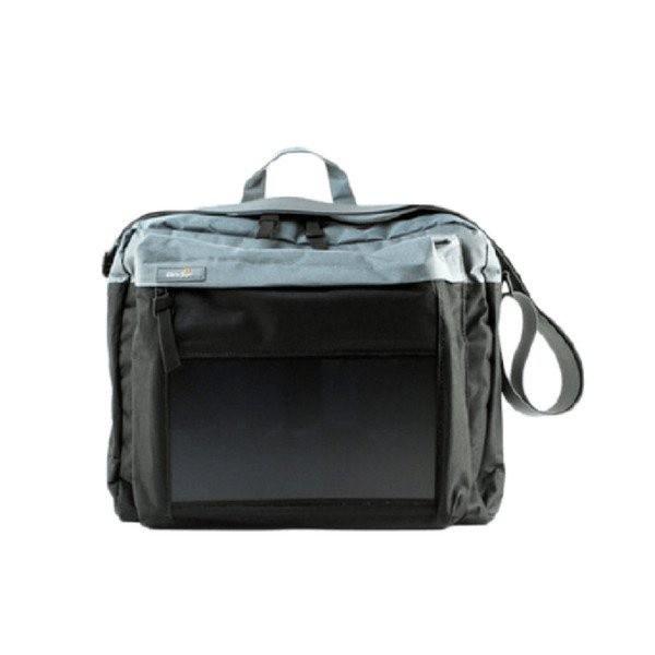 Birksun taška se solární nabíječkou - obsidian