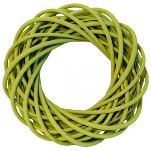 Zelený dekorační věnec Lorelai - S