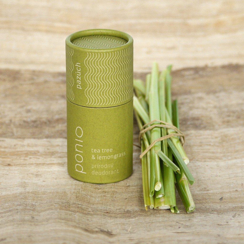 Přírodní deodorant Tea tree & Citronová tráva
