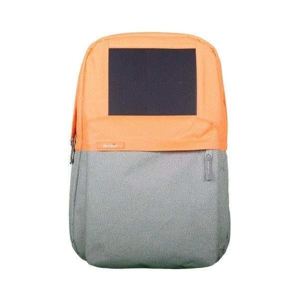 BirkSun batoh se solární nabíječkou Boost - oranžový