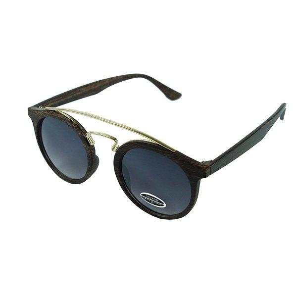 Sluneční brýle Palm Springs - tmavé dřevo