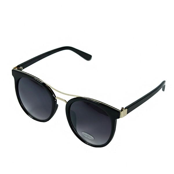 Sluneční brýle Caribic - černé s černo-fialovými skly