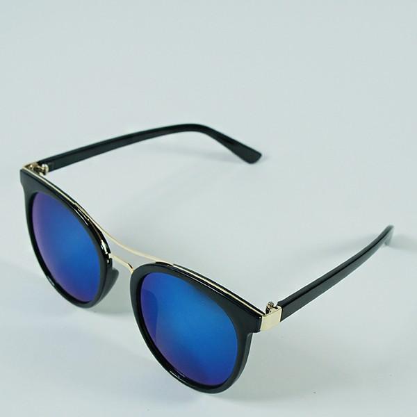 Sluneční brýle Caribic - černé s modrými skly