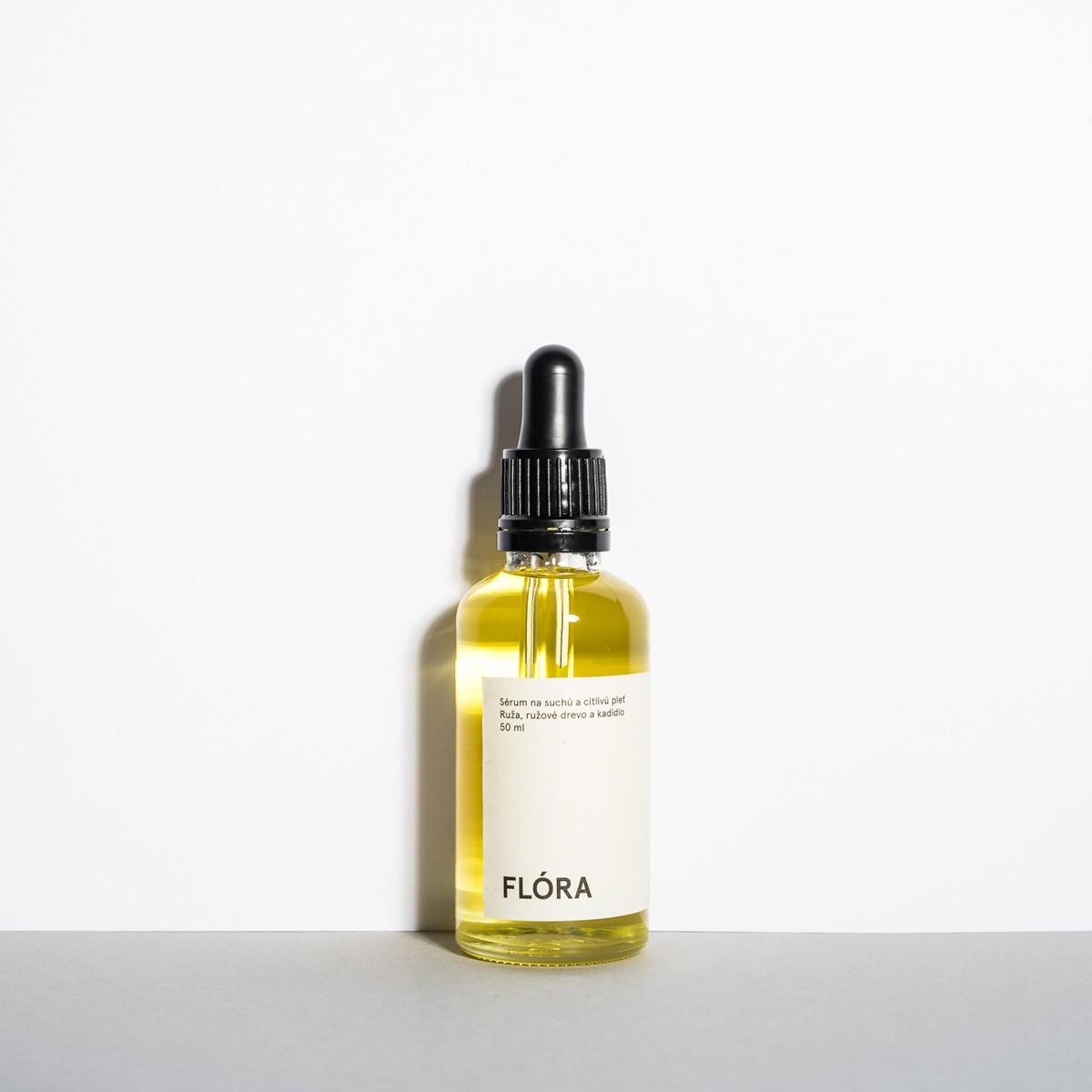 Hydratační sérum Flóra – 50 ml