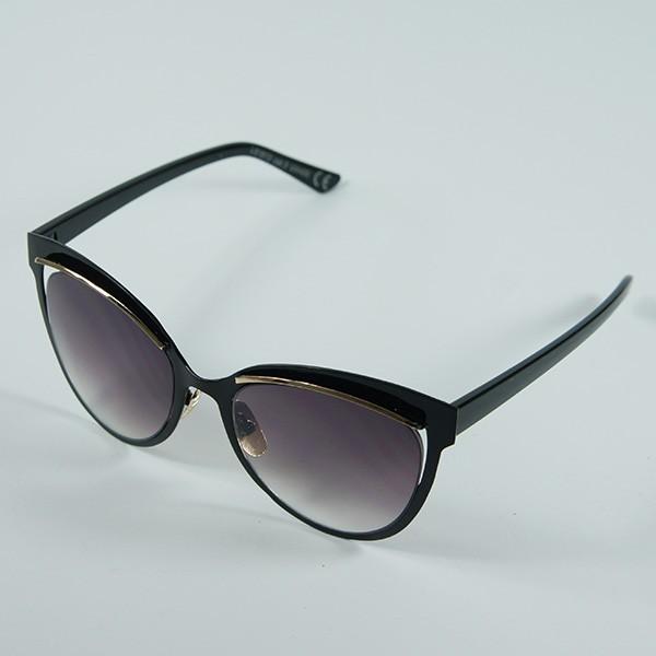 Sluneční brýle San Andreas - černé s černými skly