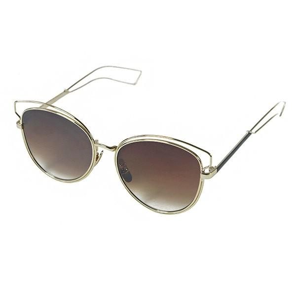 Sluneční brýle California - hnědé