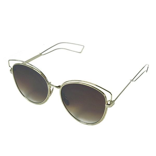 Sluneční brýle California - béžové