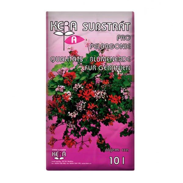 Substrát pro pelargónie a balkónové rostliny 10 L