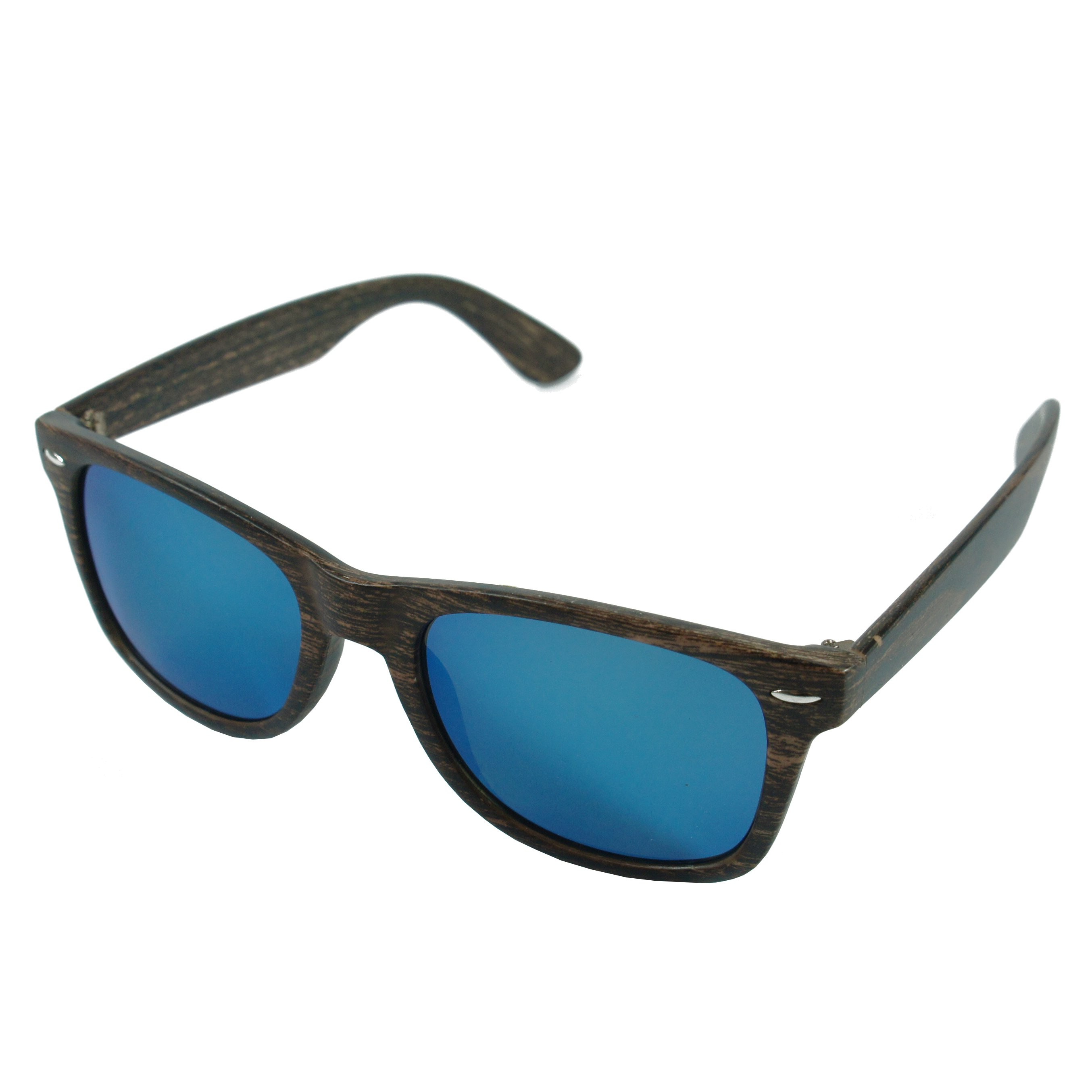 Sluneční brýle Woodies - tmavé dřevo