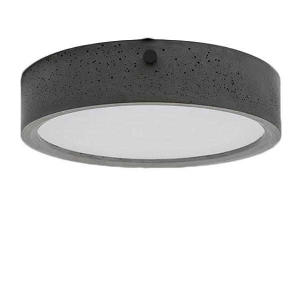 Betonové stropní svítidlo HUAN - L