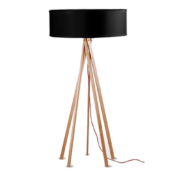 Stojací lampa POLAR GRANDE- černá