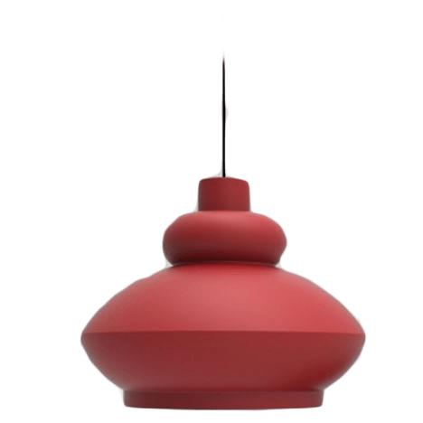 Závěsné svítidlo TORA - červené