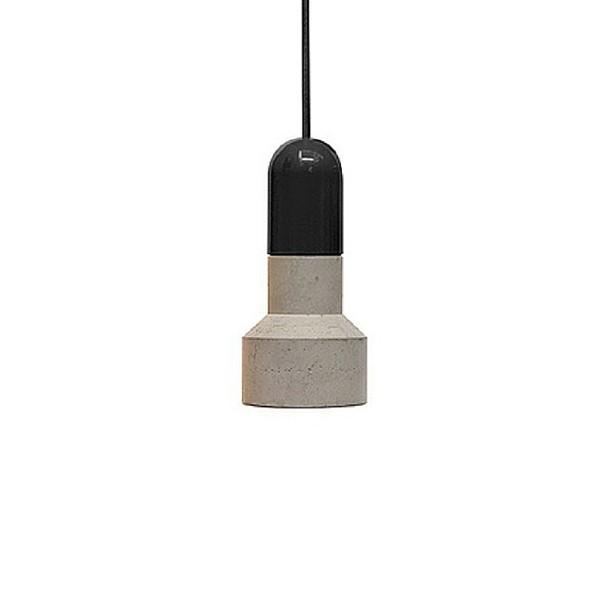 Závěsné stropní svítidlo QIE - černé S