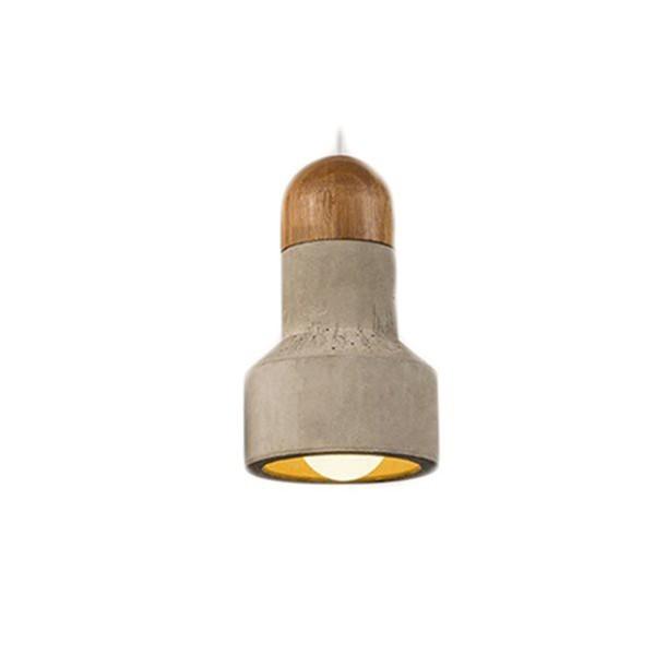 Závěsné stropní svítidlo QIE - přírodní S