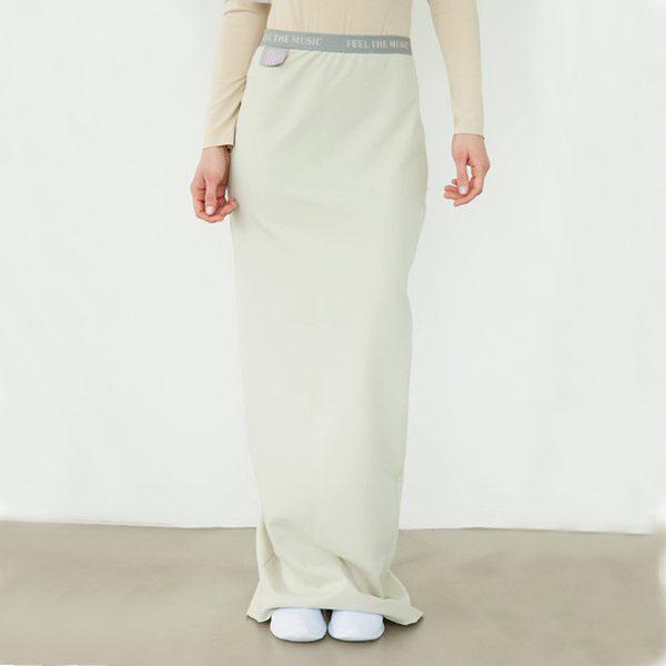 #mblm Collection dlouhá sukně S - béžová