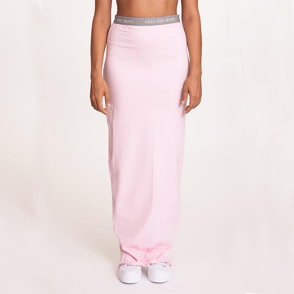 #mblm Collection dlouhá sukně M – růžová
