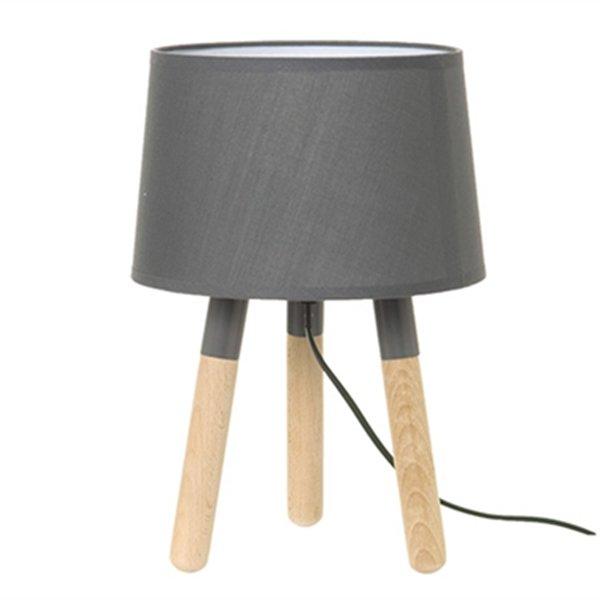Stolní lampa Orbit - šedá