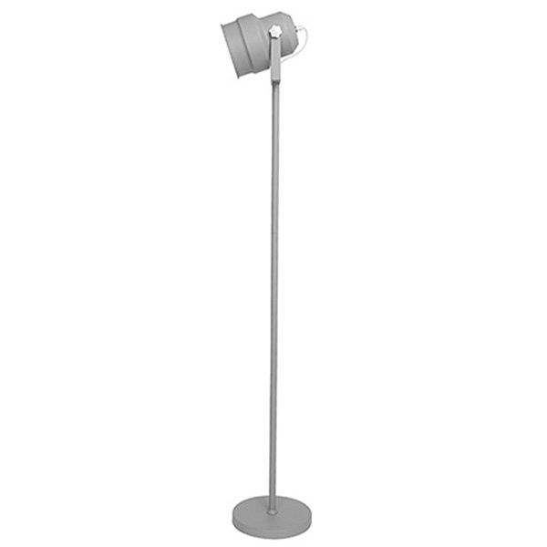 Stojací lampa Studio – šedá