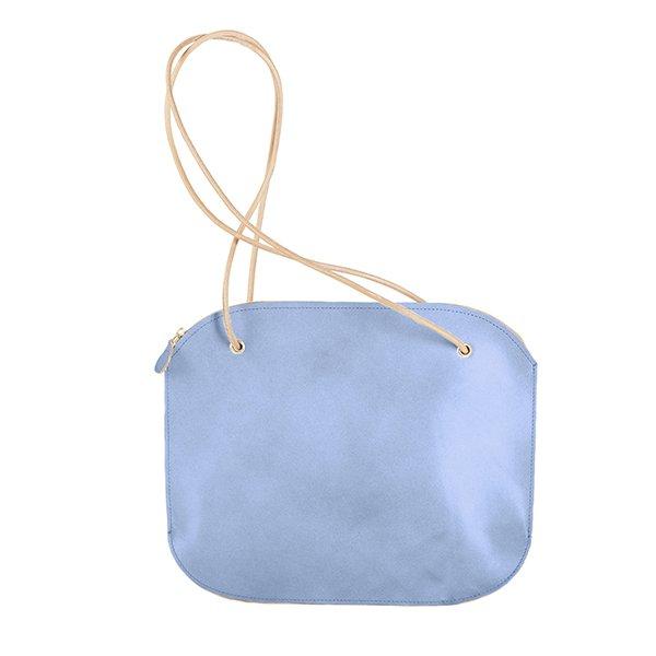 Oval Big tasche – modrá