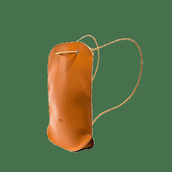 Luciela Taschen Oval Batoh - koňakový