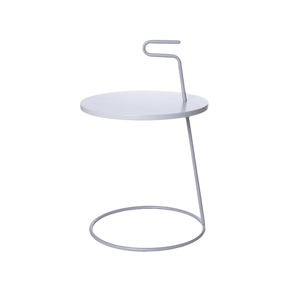 Servírovací stolek - světle šedý