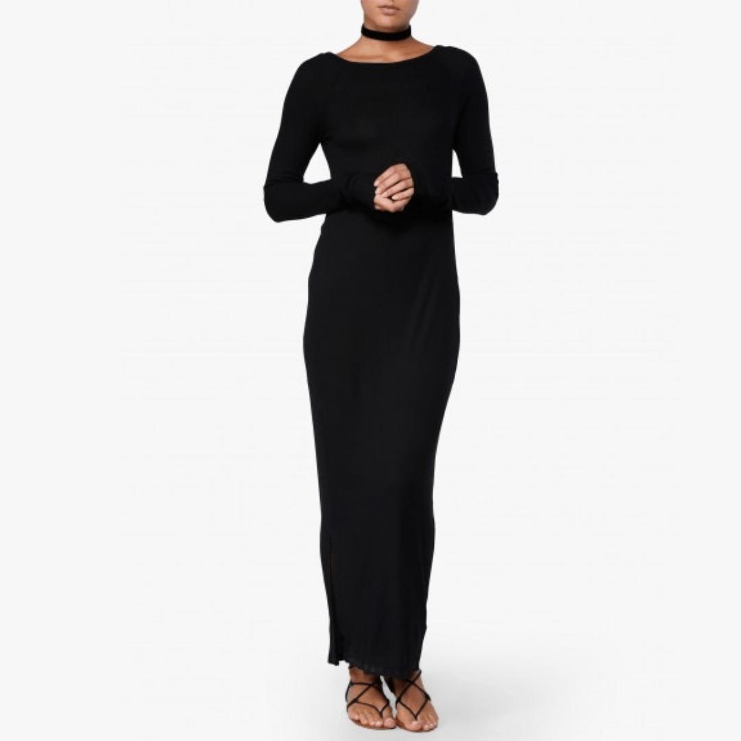 Černé dlouhé šaty Sink Cheap Monday - XS