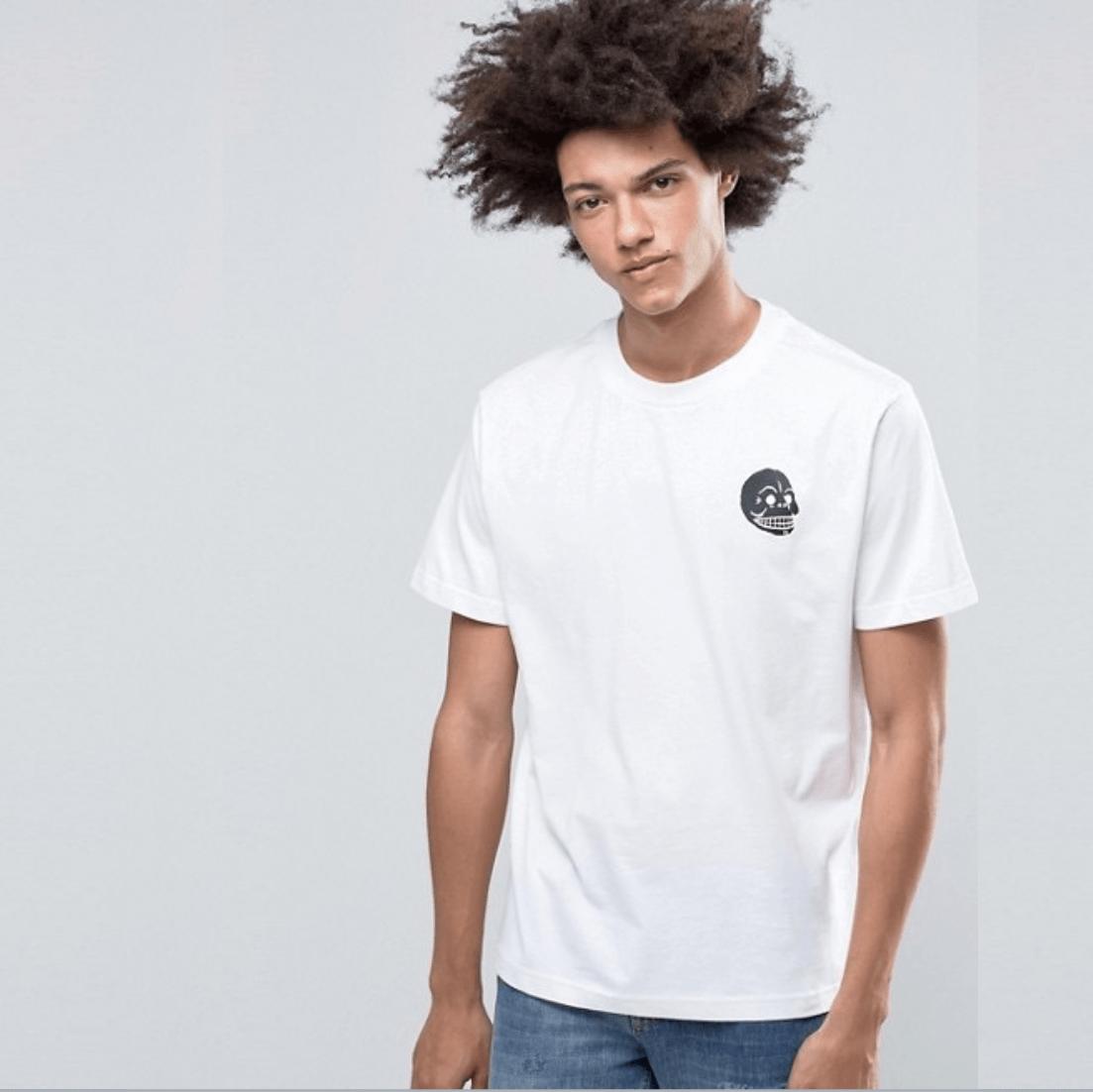 Bílé tričko Fantastic L