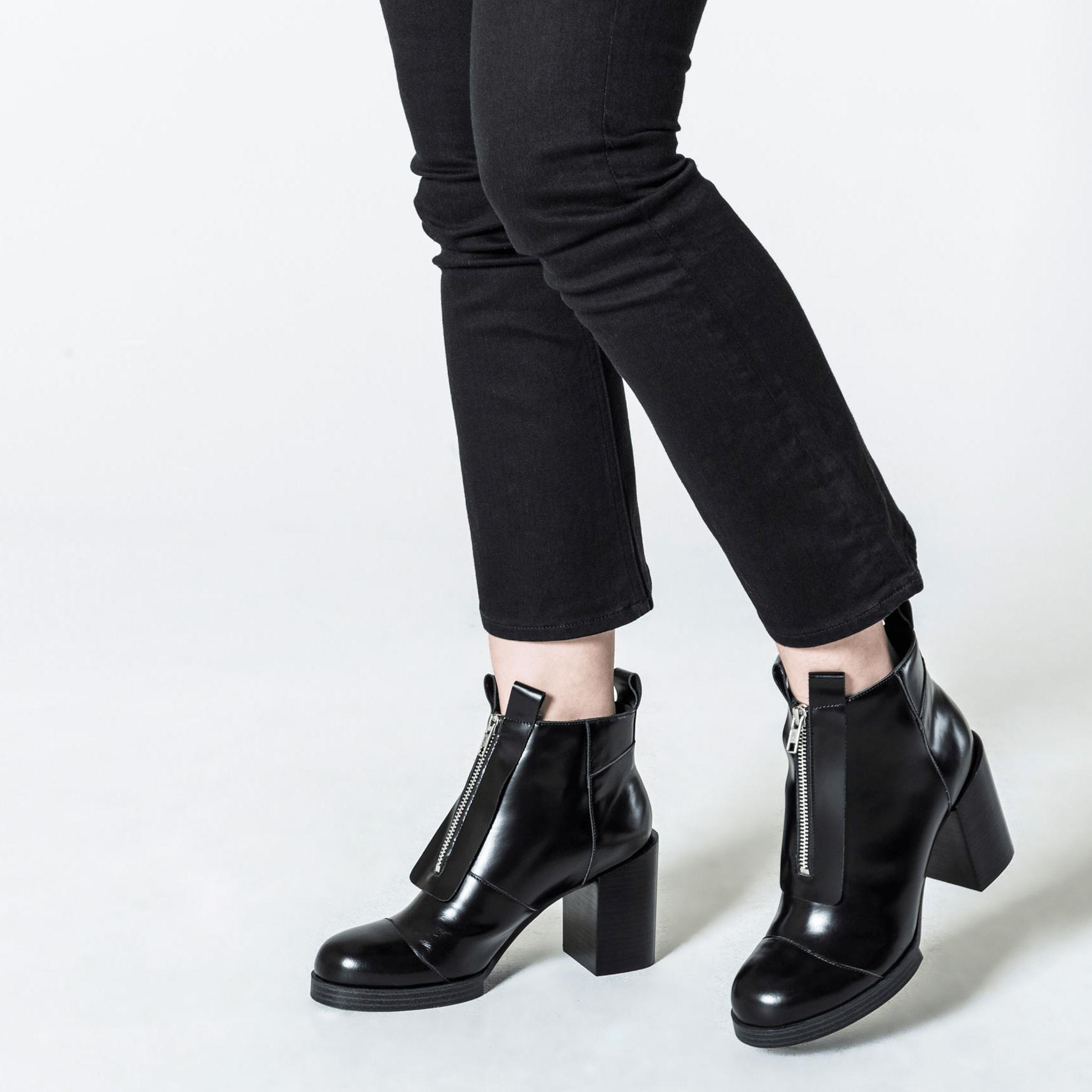 Černé boty Block - 36