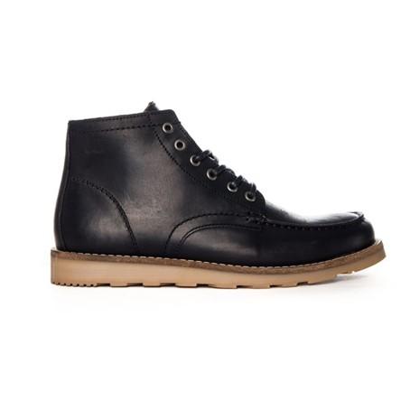 Černé kožené boty Yard boot Makia - 40