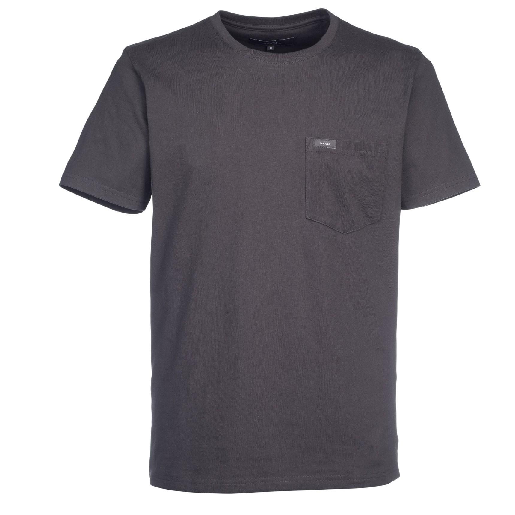 Černé tričko Pocket - M