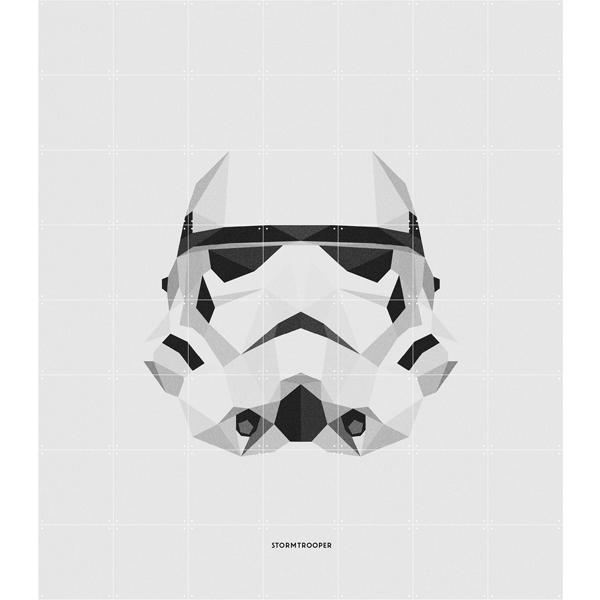 Skládaný obraz Star Wars IXXI – Stormtrooper S