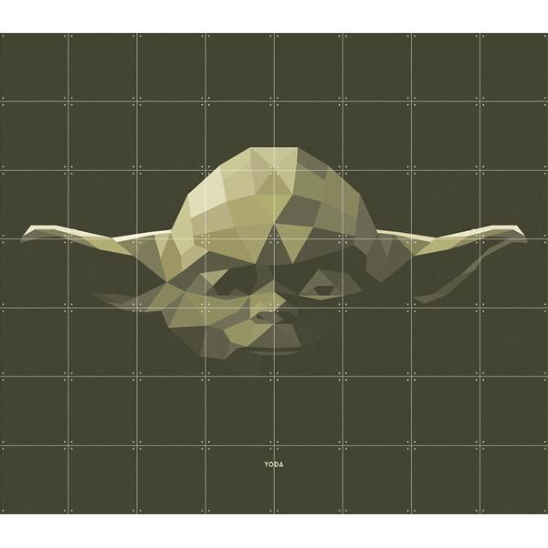 Skládaný obraz Star Wars IXXI - Yoda S