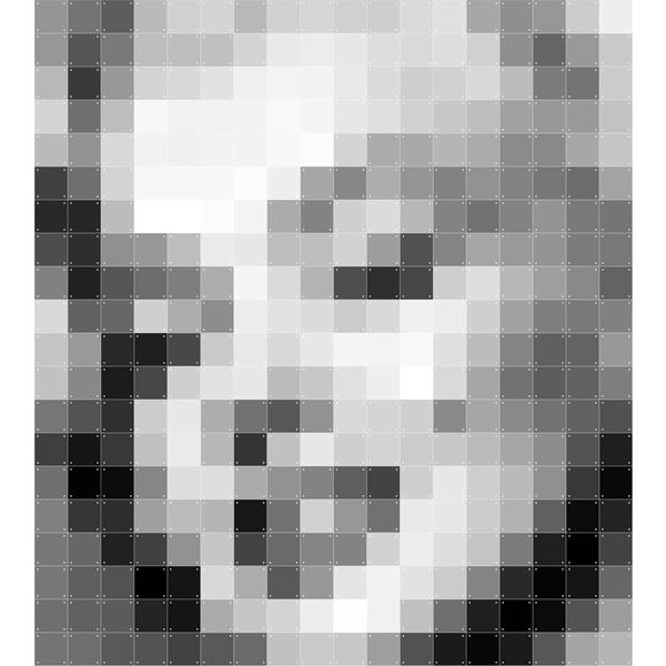 Skládaný obraz IXXI - Pixel Marylin Monroe
