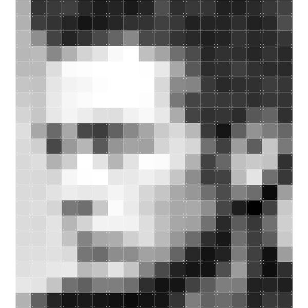 Skládaný obraz IXXI - Pixel James Dean