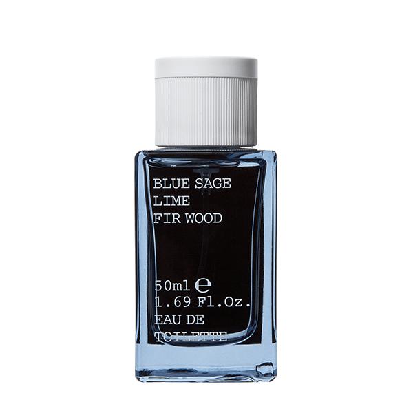 Pánská toaletní voda Korres - modrá šalvěj, limetka, jedlové dřevo 50 ml